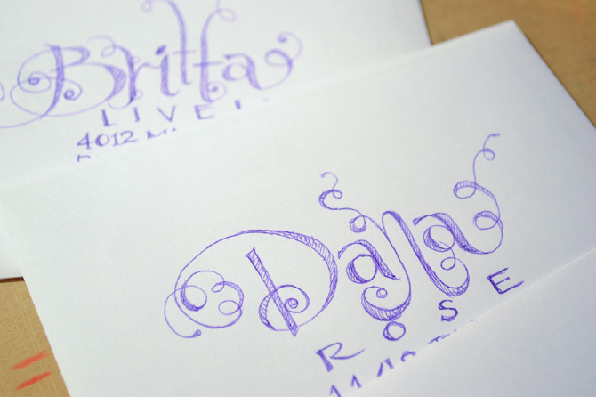 Handwritten Calligraphy - Lynet's Art
