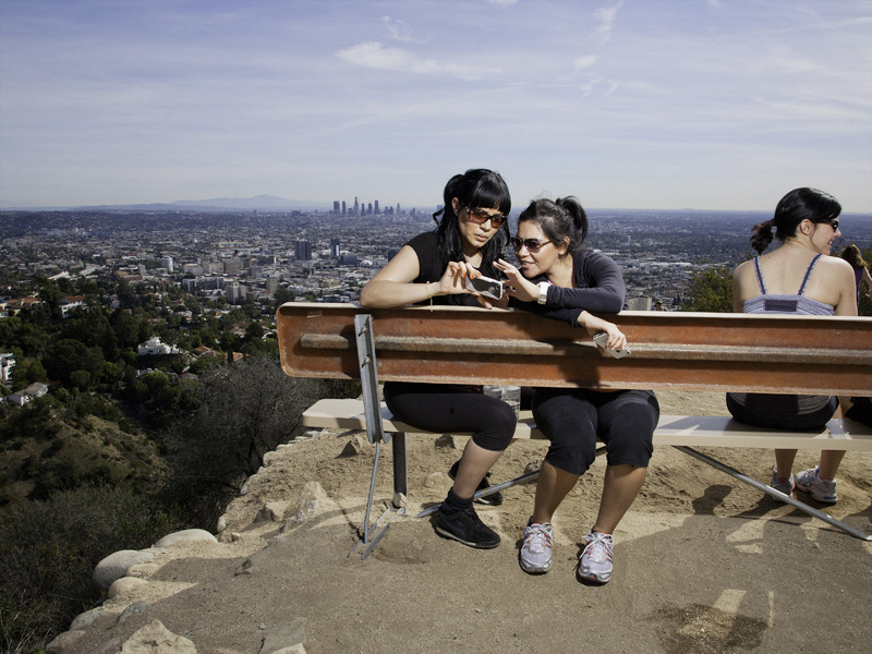 runyon canyon park is a 160 acre 65 ha park in los angeles