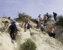how to get to runyon canyon